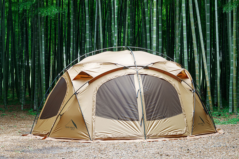 Tent-Mark Designs have released their first dome style shelter! Durable design that takes advantage of Everest expedition technology.