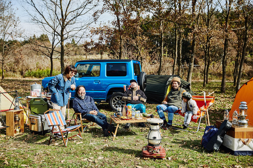 A camp party with Jimny! What is the secret to the love of the outdoors?