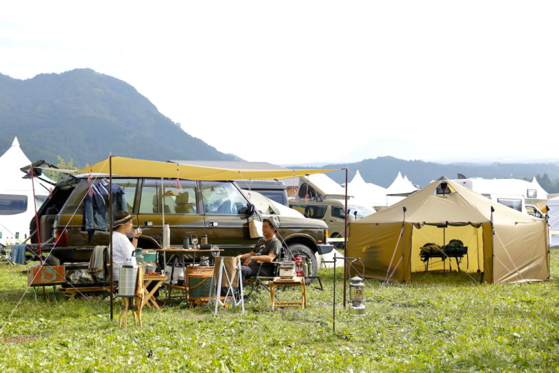 The latest fashionable camping style for fall 2019! Go Out Camp Vol.15 #2