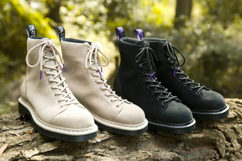 Dr. Martin's classic boots are now waterproof! The collaboration with The North Face Purple Label is here!