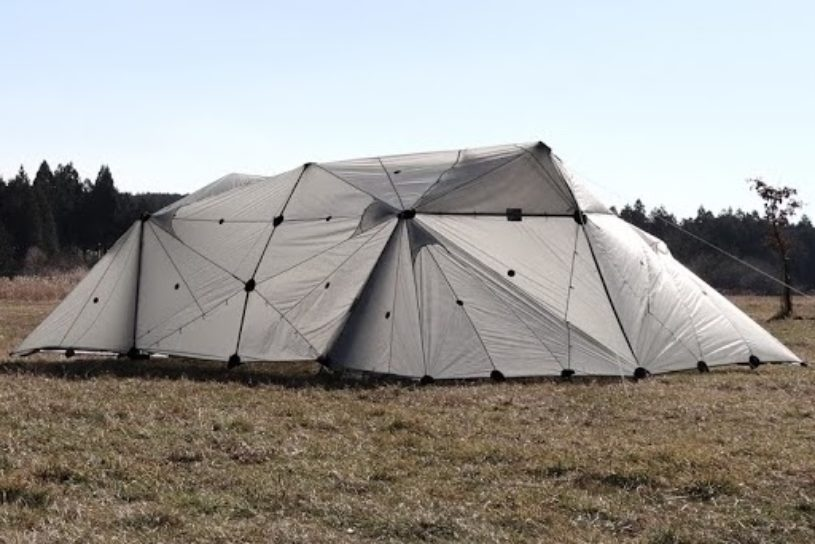 A tent that can be built in any shape you want!? Up and coming domestic brand FIELD RECORD hits the market.