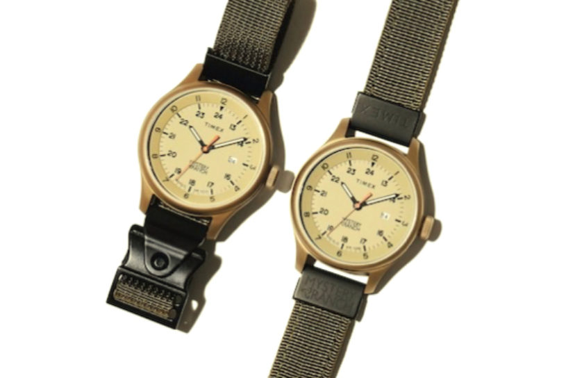 2 strong belts at the key to this Timex x Mystery Ranch collaboration!