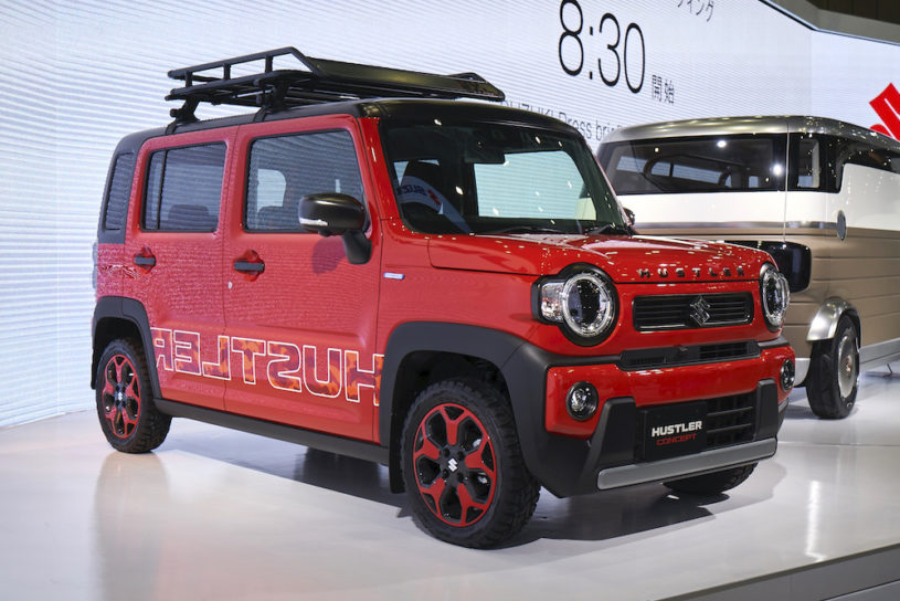 All of the best outdoor models from the Tokyo Motor Show 2019.