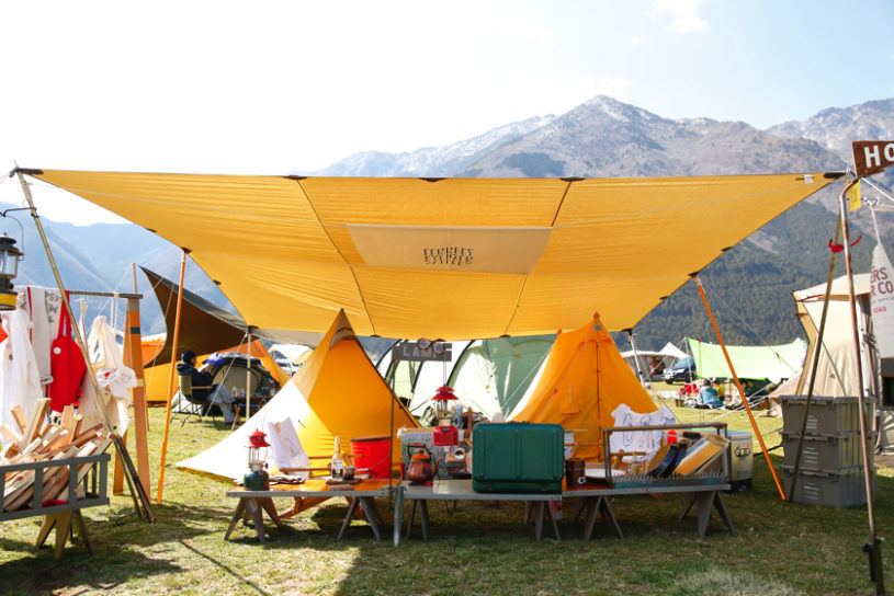 The Go Out Camp annual tent site snap collection. Here are 5 key points to getting your camp site snapped at the event.