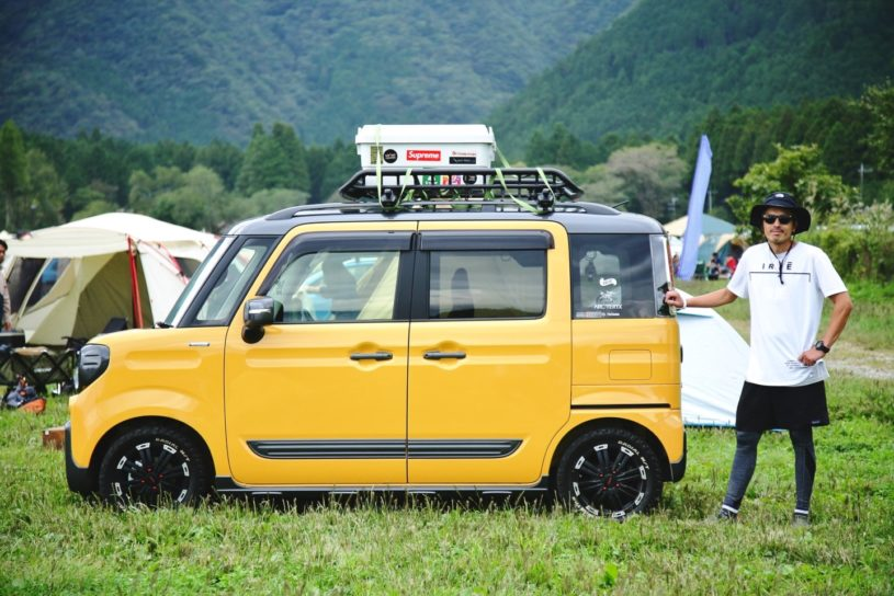 Autumn camping car snap @ Go Out Camp Vol.15 #1
