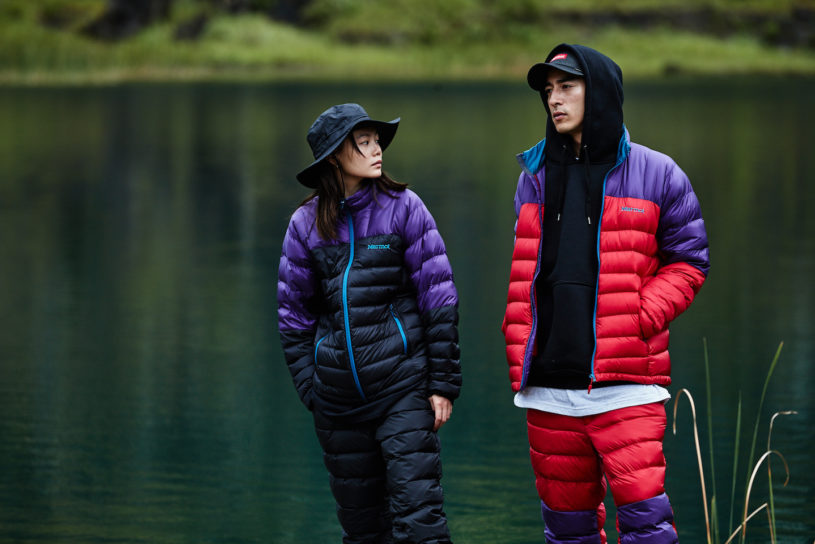 Marmot's 90's inspired series is a must have style for this seasons fall and winter outdoor adventures.