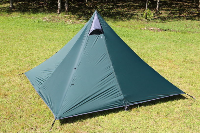 2kg or under! Tent-Mark Designs popular solo tent series Panda, gets a lightweight model!