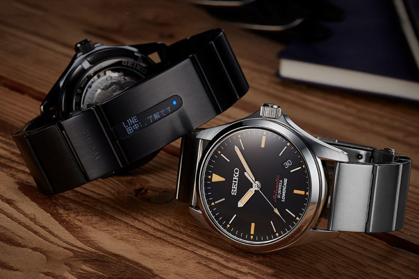 Sony x Seiko collaborate with their analog face smart watch!