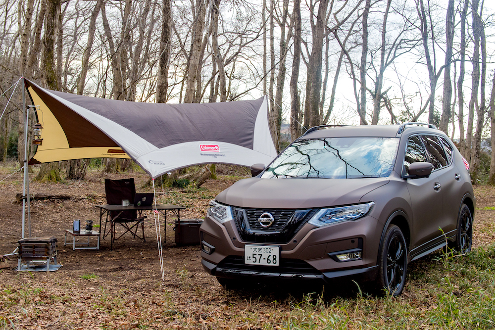 Coleman and Nissan combine for new experiment! What does an X Trail with remote work specifications look like?