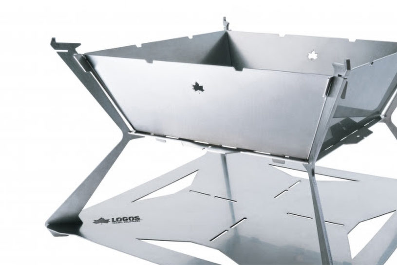 LOGOS birth another masterpiece bonfire made in Japan and with 3 times the thickness of standard stainless steel.