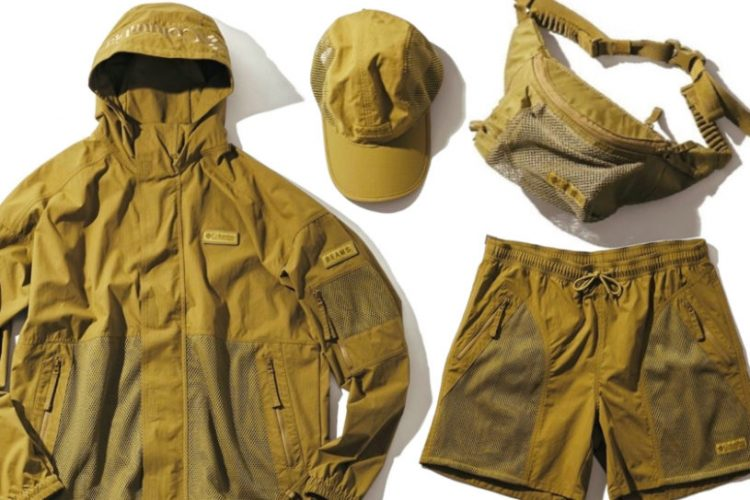 Colombia's classic outdoor wear is given a military makeover. Check out this bespoke collection with Beams.