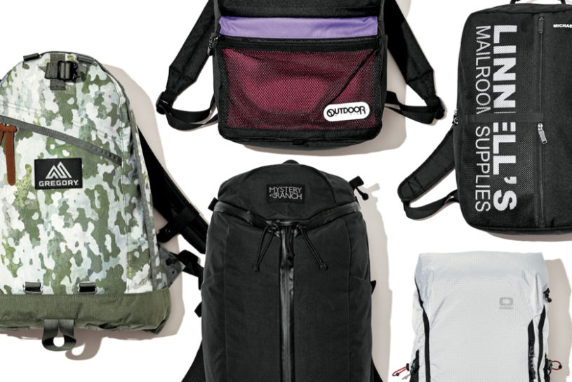 The latest bags from 6 different brands that will be highlights of urban outdoor style this spring.