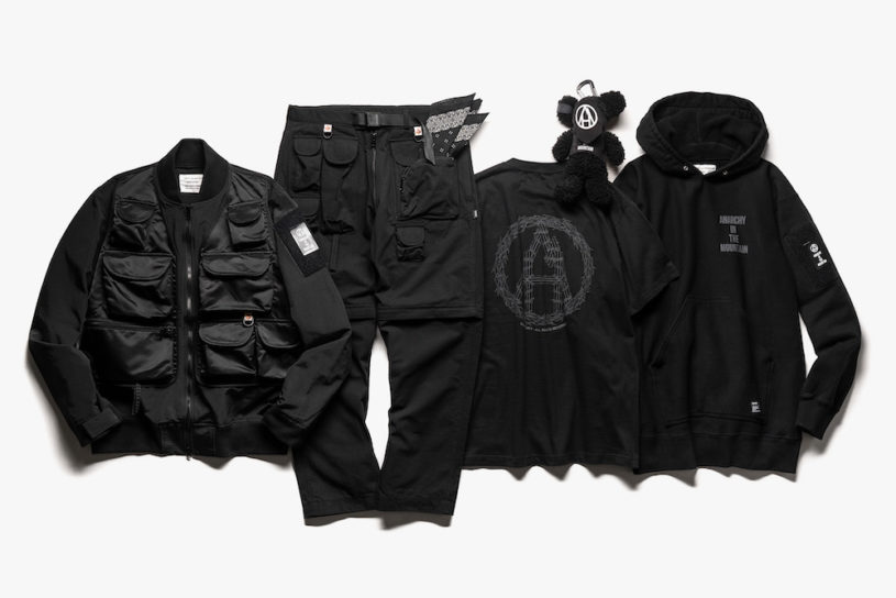 A large collaboration between Mountain Research and Haven. An all-black featured collection is here.