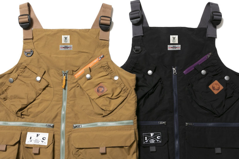 "Grn Outdoor's large storage ""hand-free vest"" is now remodeled as a fishing specification bespoke to the Airy Fishing Club !!"