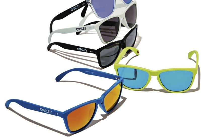 """Oakley's new masterpiece """"Frogskin"""" is a 35th anniversary commemoration of their first model!"""