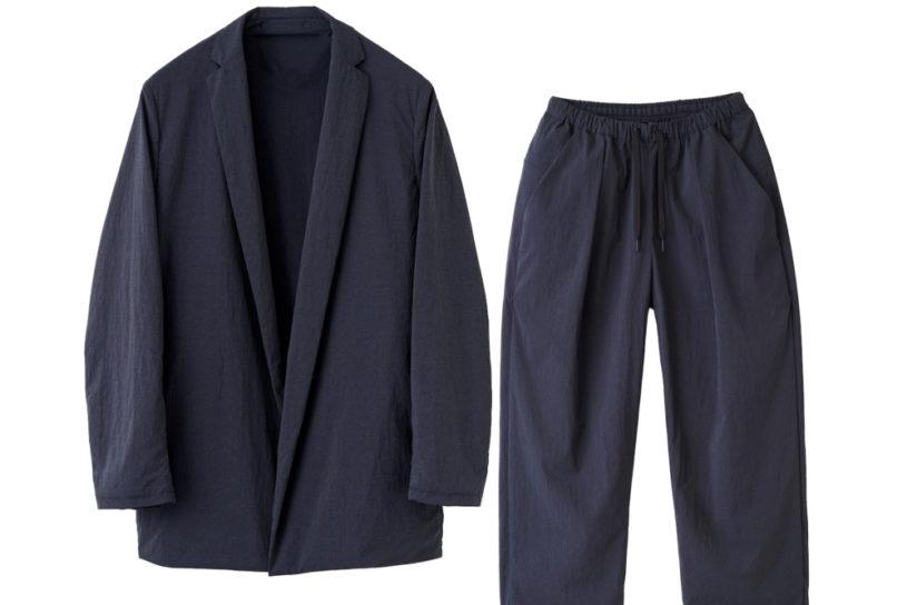 Quick dry, stretchable, packable. Teatora's high-performance relaxing wear that is great for travel.