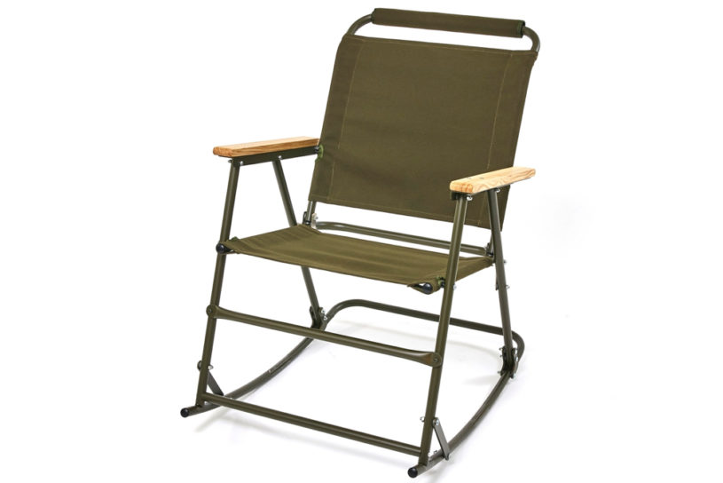 The latest Ballistics rover chair is here. Excellent foldable rocking chair model.