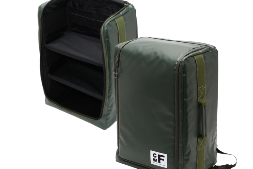 CWF's new shelf container is revolutionary with new backpack style!