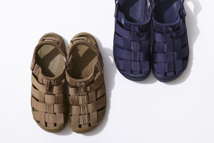Attractive with a solid one tone! Oboz's masterpiece sandals receive new limited Japanese bespoke models.