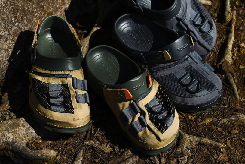 Crocs for outdoor use!? Fishing and military, two new BEAMS limited models are hot this season.