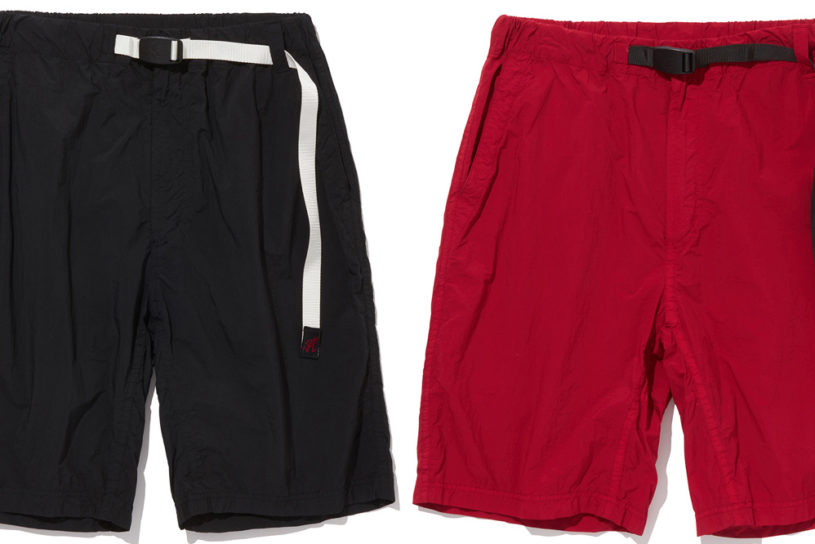 The latest collaboration from White Mountaineering and Gramicci! Modern, beautifully silhouetted quick-drying shorts are here!