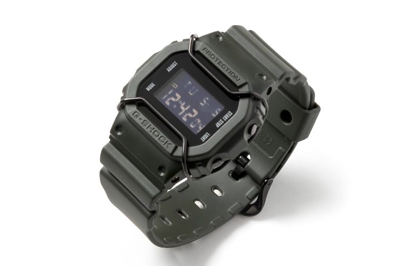 The first collaboration between Nexus Seven and G-Shock. Small military details in this attractive timepiece.