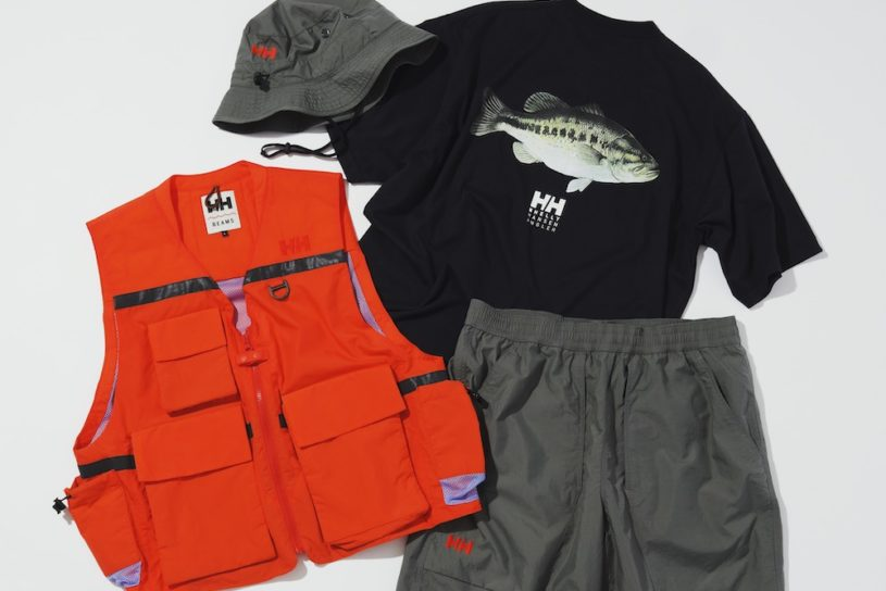 The latest collaboration between Helly Hansen and BEAMS is full of fashionable fishing items!