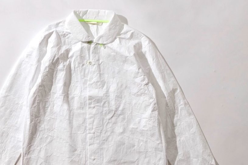 CCP's lightweight tough Tyvek shirt is groundbreaking. A functionally beautiful model with a unique texture.