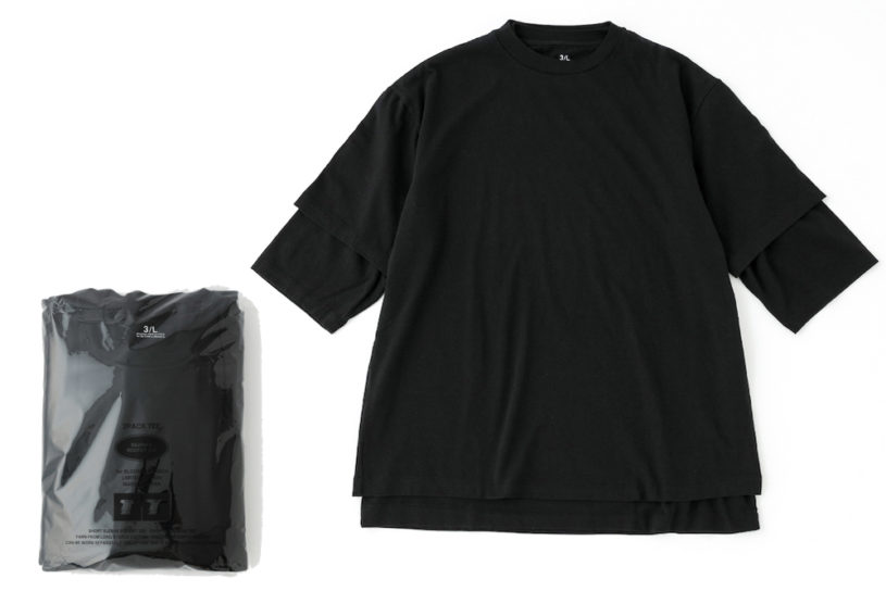 Pack T that can be layered. A high-quality set using excellent materials for adults.