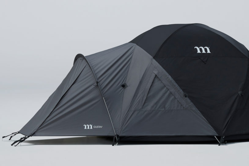 Muraco's Nagareyama tent is finished in a chic two-tone color. An legitimate tent born in Kilimanjaro.