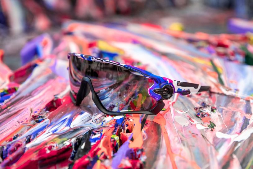 Oakley has released a new collection with original graphics by artist Yamaguchi.