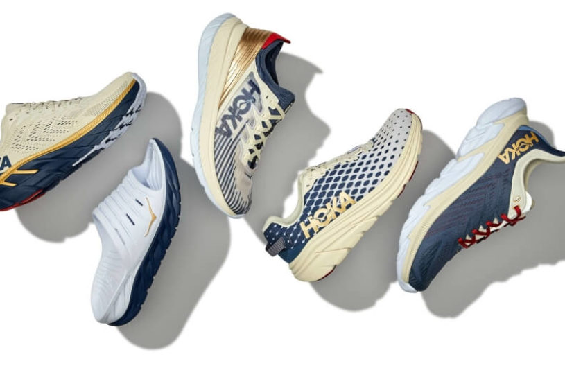 Hoka One One's stylish new collection is charming with the color scheme of ancient Japan.