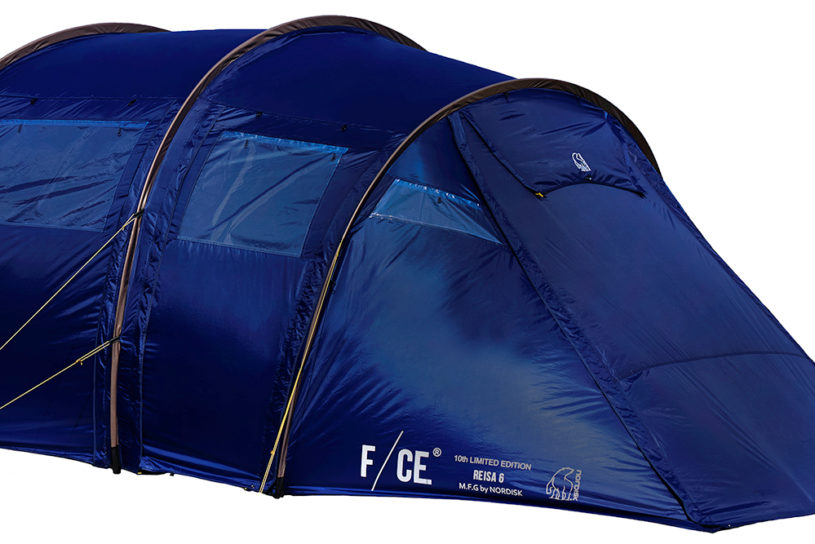 F/CE.×Nordisk, the rumored tent is about to be released! A limited-edition navy color Racer with a British feel.