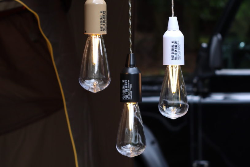 Discover a stylish naked light bulb that can also be used for camping! LED model with no power supply and durable specifications.
