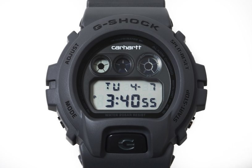 """Carhartt WIP and G-Shock collaborate for the first time! Mature color """"third"""" model is on sale only in Japan."""