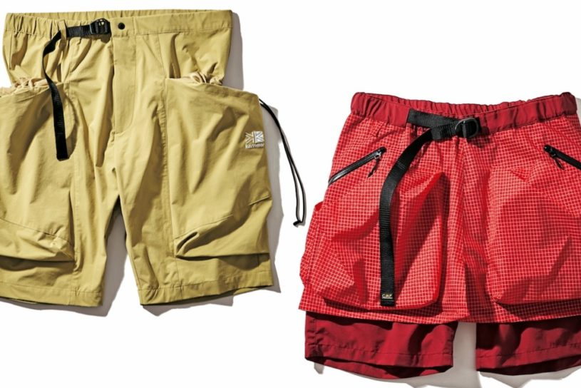 A must-see for hands free fans! 8 large-storage capacity shorts that you can wear as a fashion piece.