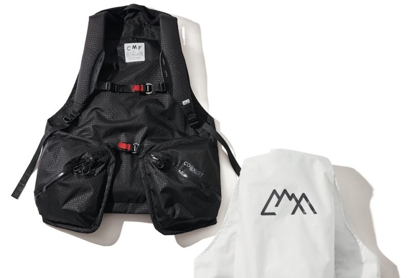 New vest project combining comfort and style. A ground breaking hybrid work with a fused backpack.