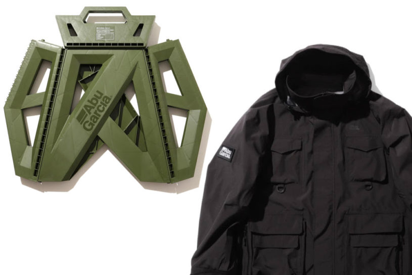 Bespoke collaboration from Beams and Abu Garcia. Don't miss these 4 fishing and military items!