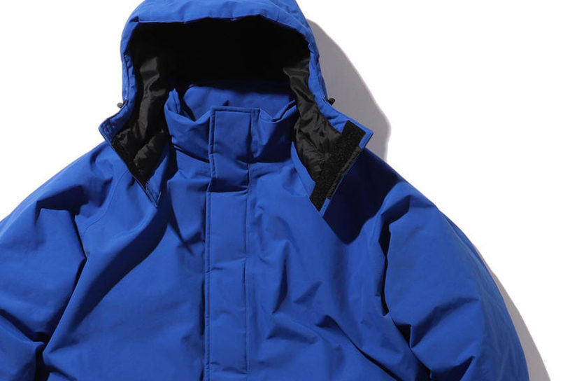 Marmot x BEAMS latest down jacket has a powerful silhouette and exceptional cold protection!