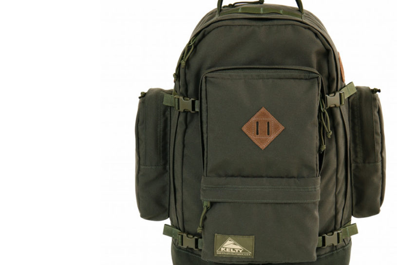A perfect military score! Kelty's Fall / Winter 2020 limited edition bag with rugged details.