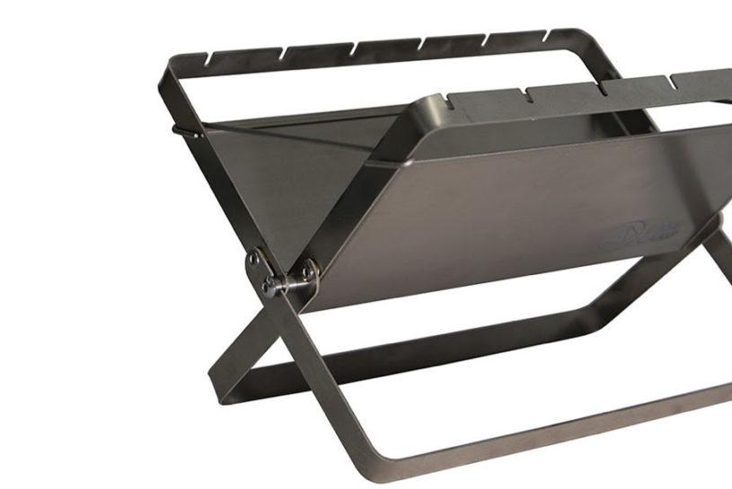 The definitive version of a solo bonfire!? Tent-Mark's all-titanium 500g ultra-lightweight bonfire.