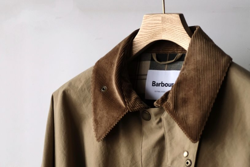 Babour becomes American! A bespoke model tailored with US-made functional materials.