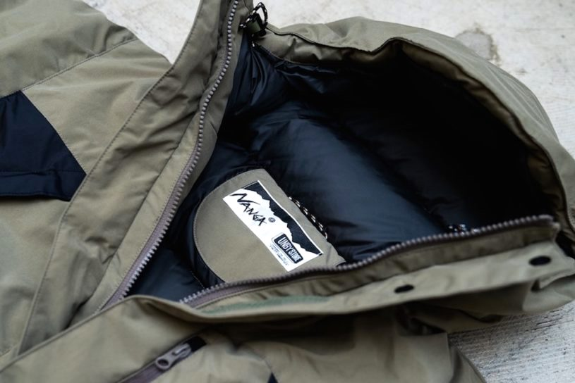 The latest work in the popular collaboration series between UNBY and Nanga is a high-quality down jacket with amazing waterproof and breathability.