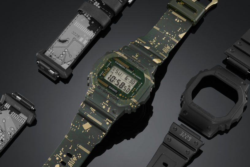 First in G-Shock history. Introducing a super functional watch that allows you to freely change the bezel and band.