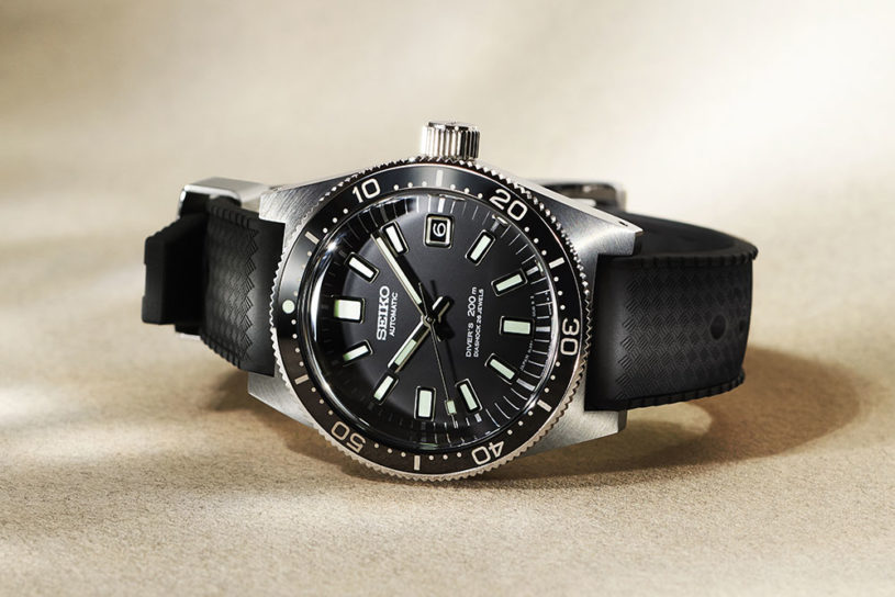 Tora-san's favorite Seiko Divers watch is reprinted. A stylish triple collaboration work by BEAMS JAPAN!