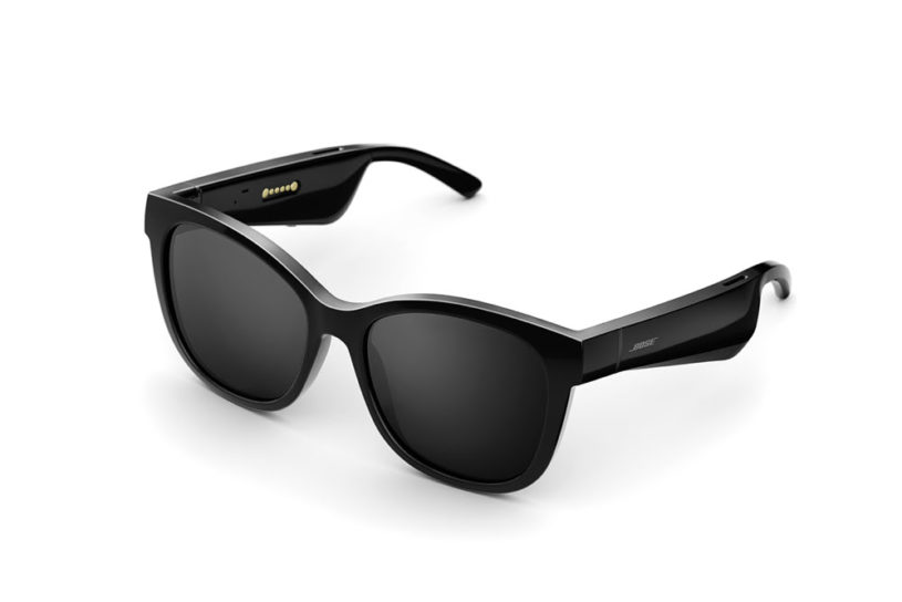 Two new sunglasses from Bose with built-in speakers. Lightweight and flexible sports model and a sophisticated premium model.