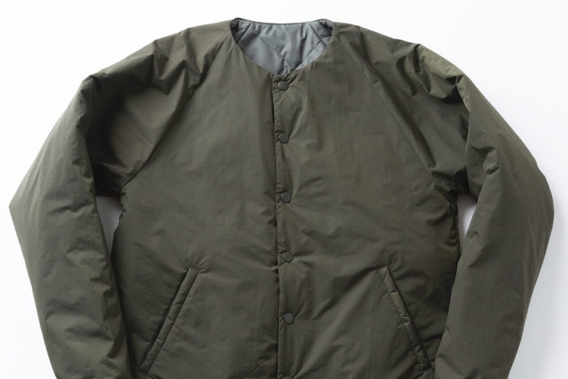 Warm, lightweight and washable! A ground breaking 3 point insulation jacket made of high-tech material.