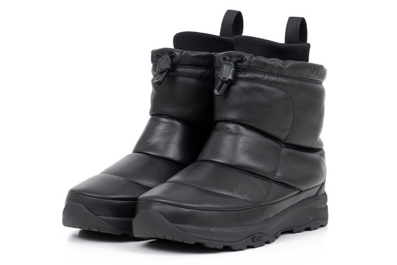 The North Face PPL re-imagines the masterpiece Nuptse Bootie! The leather upper is irresistible with an added sense of luxury.