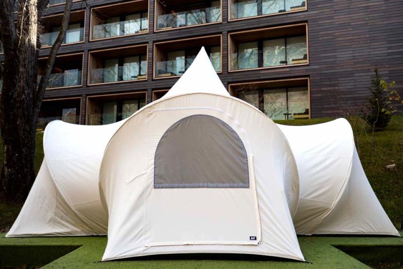 The long-awaited resurrection of MOSS's artistic tents and tarps has finally been unveiled!