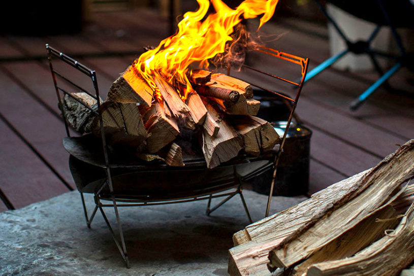 "Check out the freely customizable bonfire from new brand ""Maagz"". Stylish, compact and expandable!"